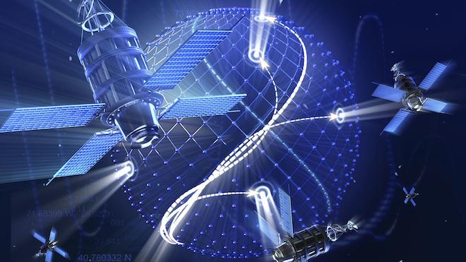Satellite Systems Inokos Dreamstime